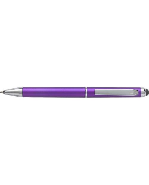 Penna a sfera in plastica capacitiva, refill blu