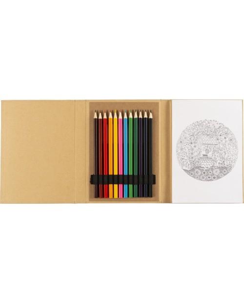 Cartella per colorare in cartone