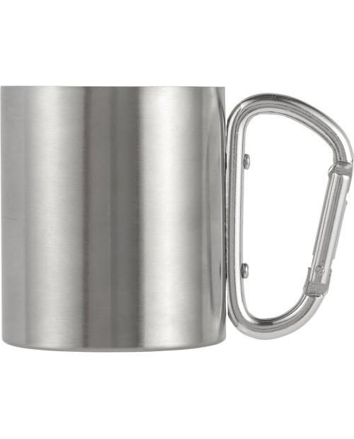 Tazza da viaggio a doppia parete in acciaio inossidabile (200 ml)
