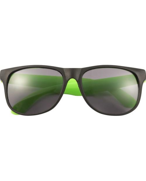 Occhiali da sole in PP con astine colorate